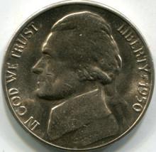 1950-D (MS-60) Jefferson Nickel