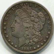 1884-S (VF-30) Morgan Dollar