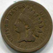 1862 (VG) Indian Cent