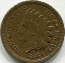 1864 C/N (VF-20) Indian Cent
