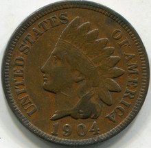 1904 (VF) Indian Cent (2)
