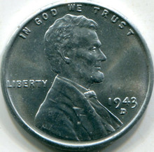 1943-D (MS-65) Lincoln Cent