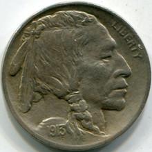 1913 TYI (AU-58) Buffalo Nickel
