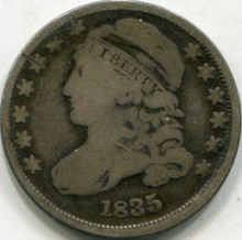 1835 (G) Capped Bust Dime