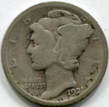 1921 (G) Mercury Dime