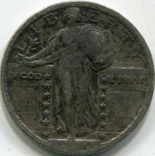 1920 (VF) Standing Liberty Quarter