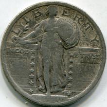 1920 (F-12) Standing Liberty Quarter