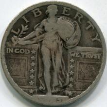 1923 (F-12) Standing Liberty Quarter (2)