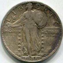 1925 (VF-30) Standing Liberty Quarter