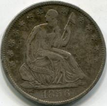 1856-O (XF-40) Liberty Seated Half Dollar