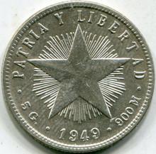 1949 Cuba (MS-63) 20 Centavos