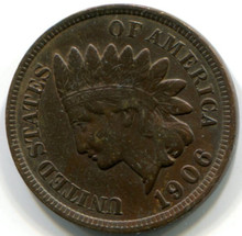 1906 Indian Head Cent , XF