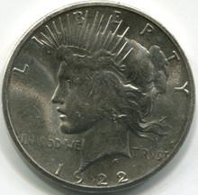 1922 S Peace Dollar , MS62