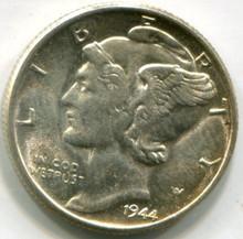 1944 Mercury Dime UNC