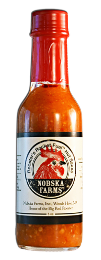 Rooster's Rocket Fuel™ Hot Sauce (5 oz)