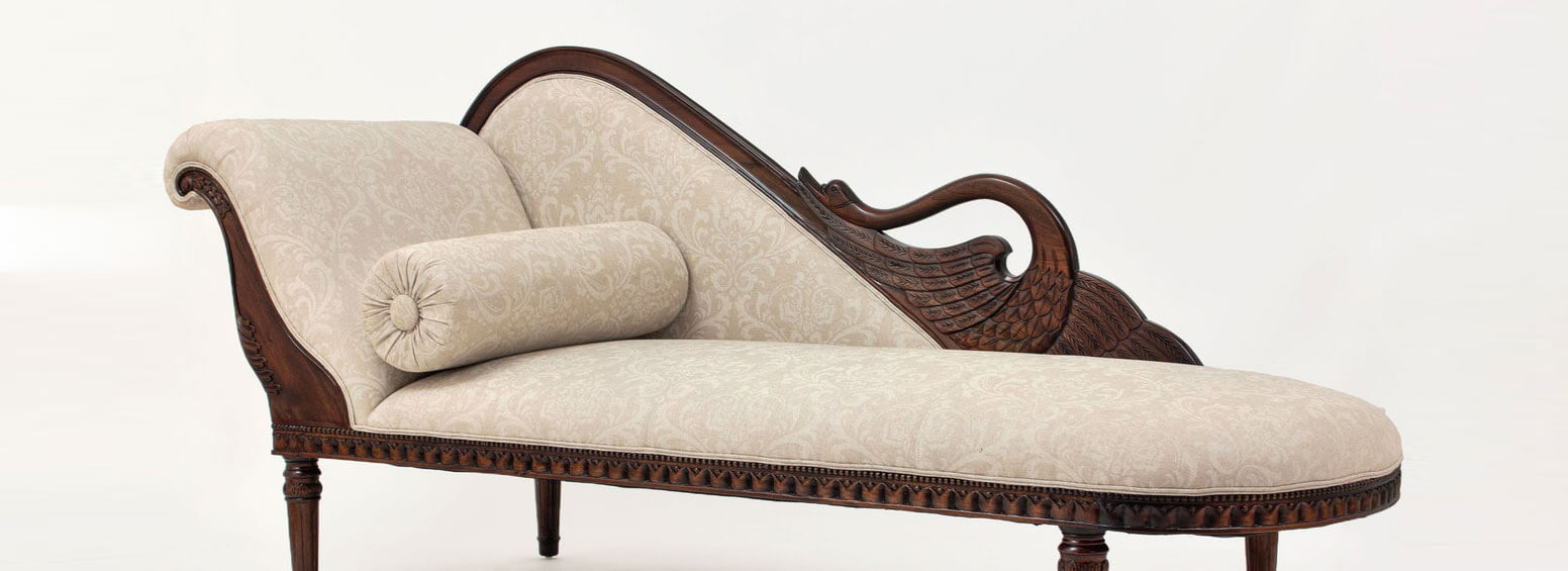 Antique Style Sofa - Antique Reproductions & Handcrafted Furniture Laurel Crown Furniture