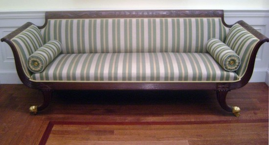 American Empire couch