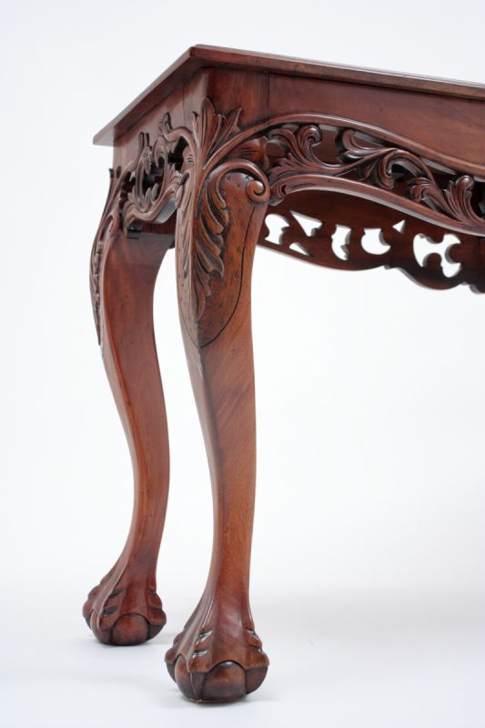 Chippendale ball and claw legs