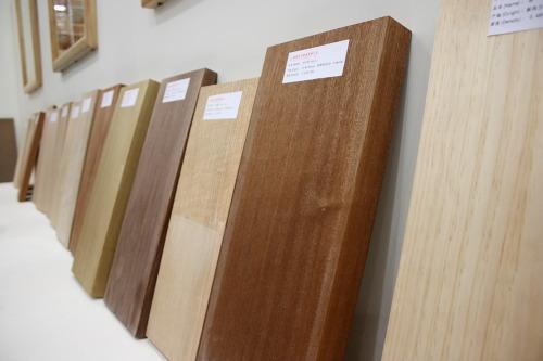 Different types of hardwoods