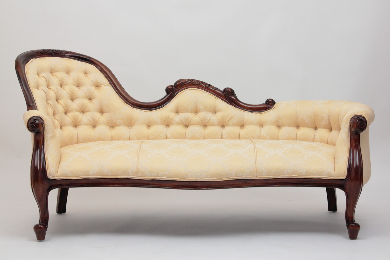 Victorian Style Chaise Lounge Laurel Crown Furniture