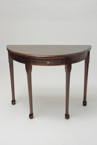 Queen Anne Half-Moon Table
