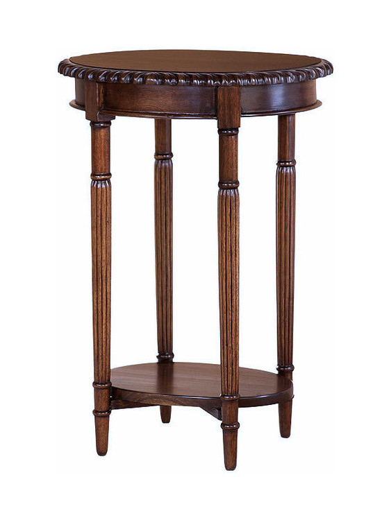 Chippendale Side Table - Oval