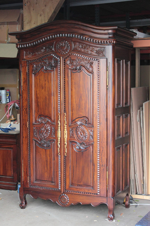 French Provincial Style Armoires