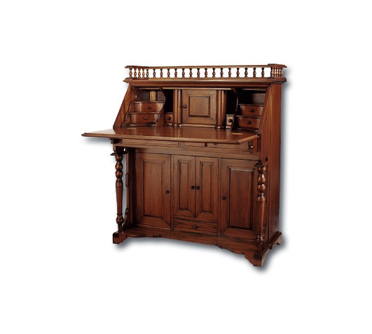 Colonial Secretary Desk Laurel Crown Furniture