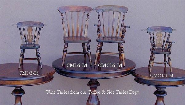 Miniature Windsor Fan-Back Armchair - 1/2