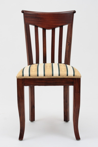 Biedermeier Slat Back Side Chair
