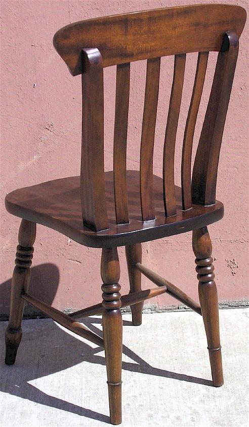 Windsor Fan Back Side Chair Laurel Crown Furniture