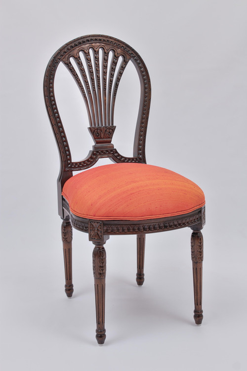 Louis XVI Chair in custom upholstery