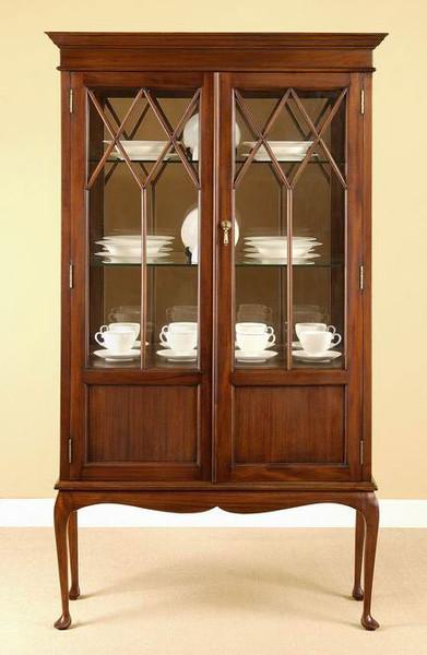 Regency Style Curio Cabinet