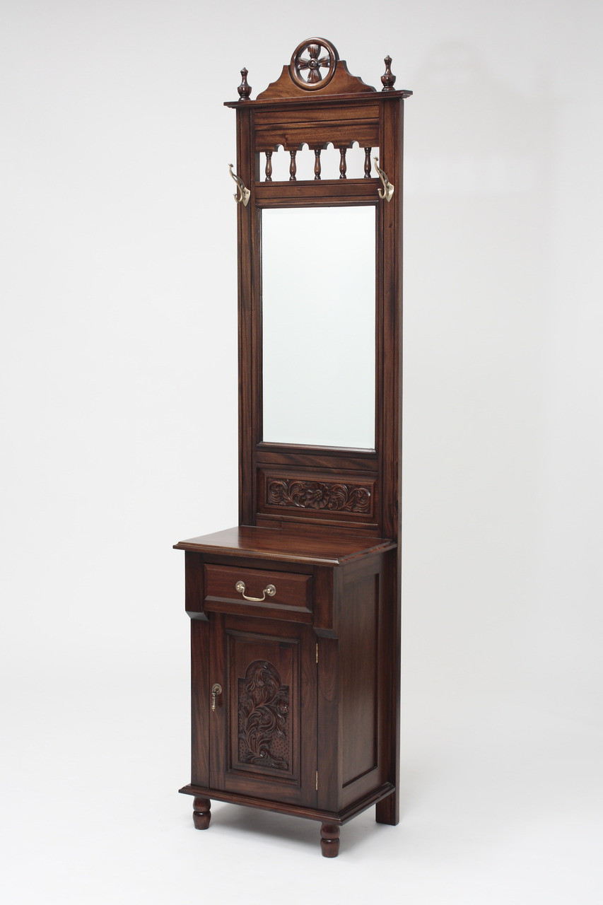 Small Entryway Hall Tree Laurel Crown Furniture