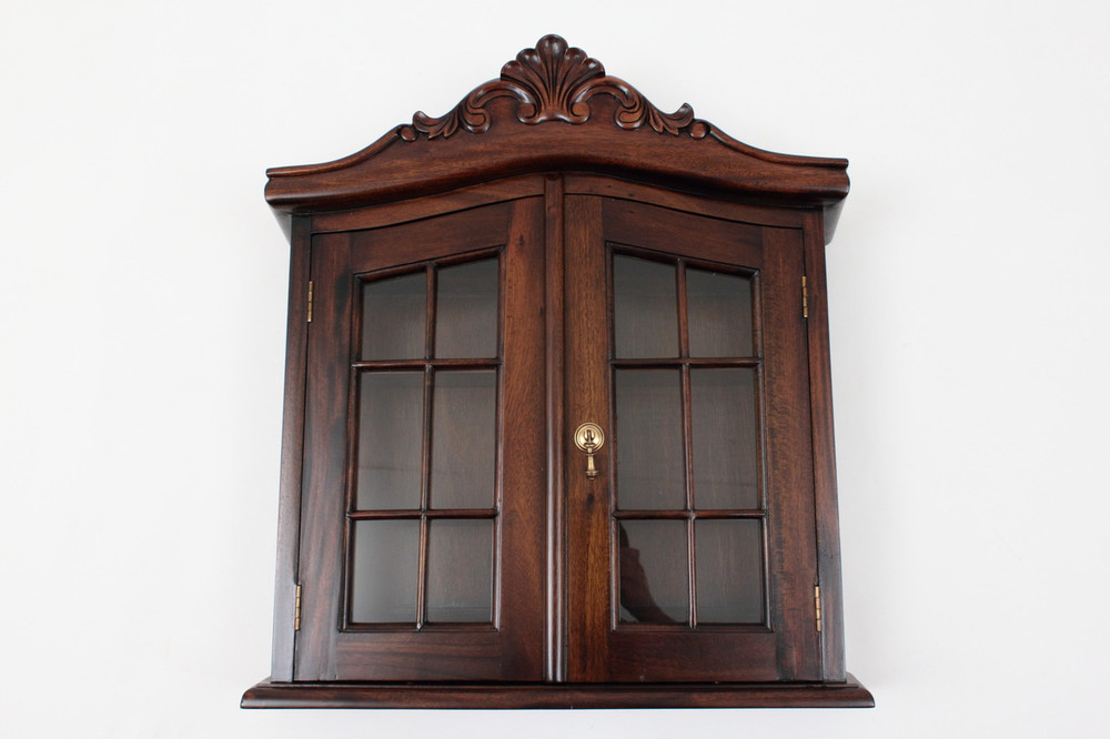 Colonial Hanging Wall Cabinet