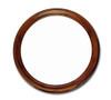 """Brown Mahogany Round Mirror 31.5"""" diameter"""
