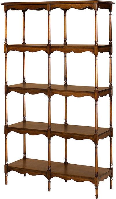 Victorian Open Display Shelves