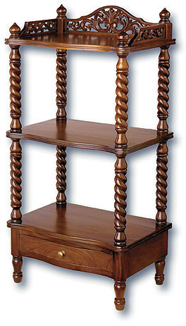 Victorian Whatnot Shelves