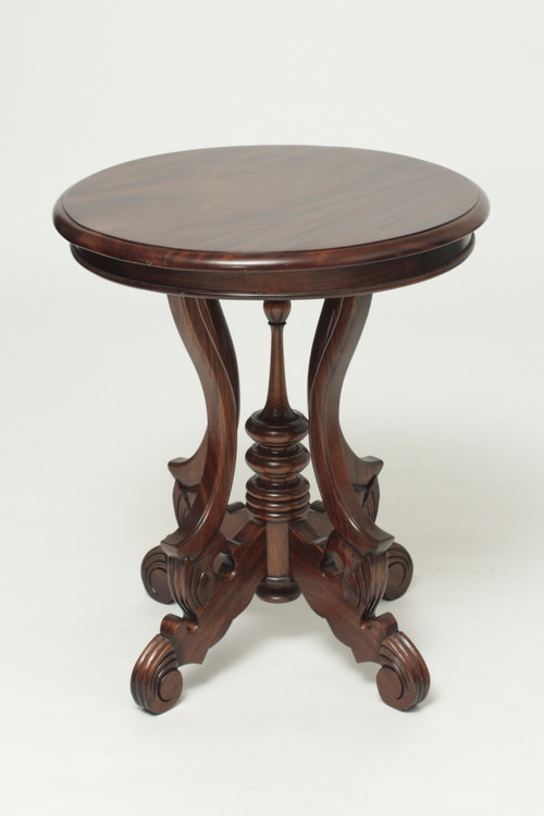 Victorian Round Side Table Laurel Crown Furniture