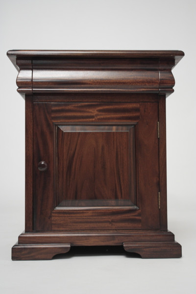 French Sleigh Bedside Cabinet L