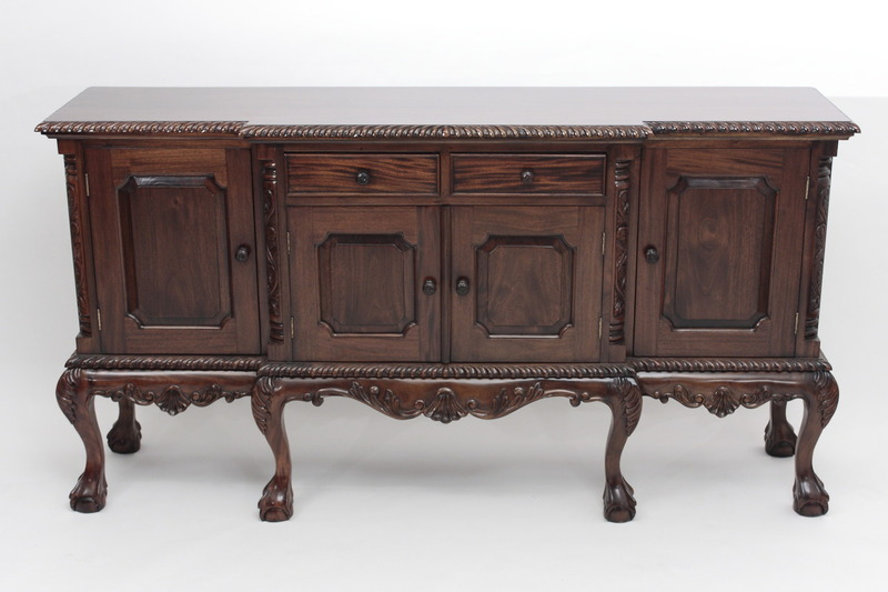 Chippendale Sideboard with Ball-and-Claw Feet