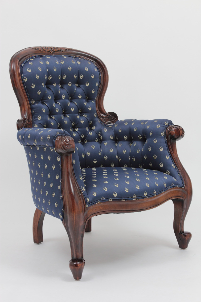 Victorian Parlor Chair Laurel Crown Furniture