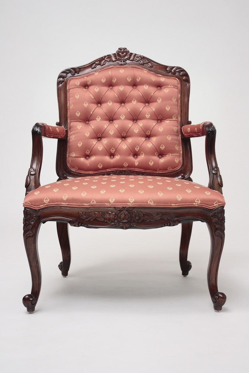 French Provincial Style Accent Chairs