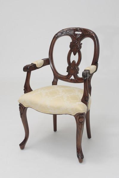 Oval Back Armchair