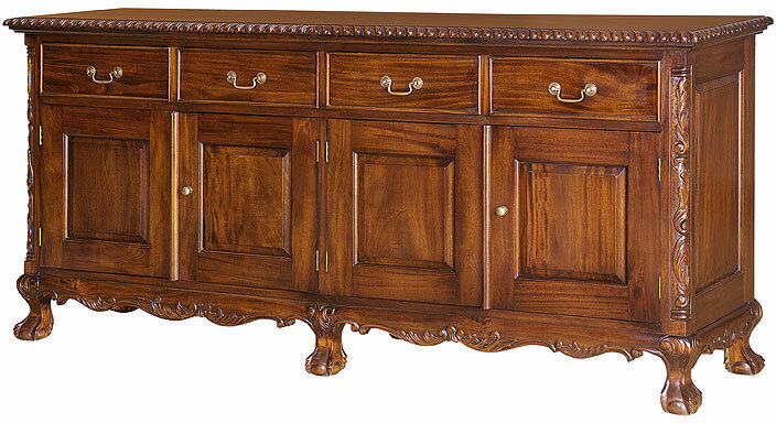 Chippendale Sideboard With Ball And Claw Feet Laurel Crown Furniture