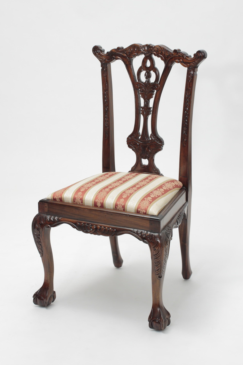 Chippendale Mahogany Ball And Claw Chairs Laurel Crown Furniture