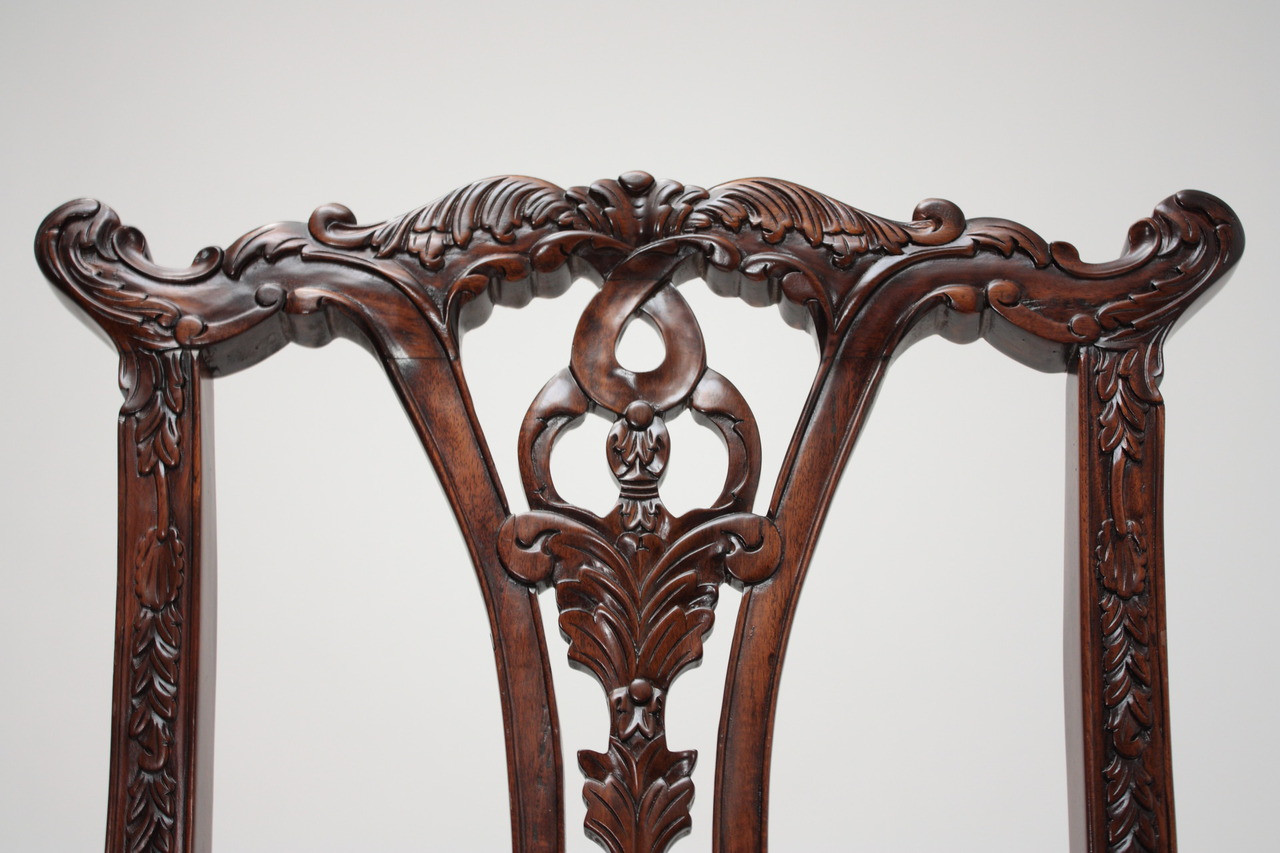 Image 4 Chippendale Mahogany Ball and Claw