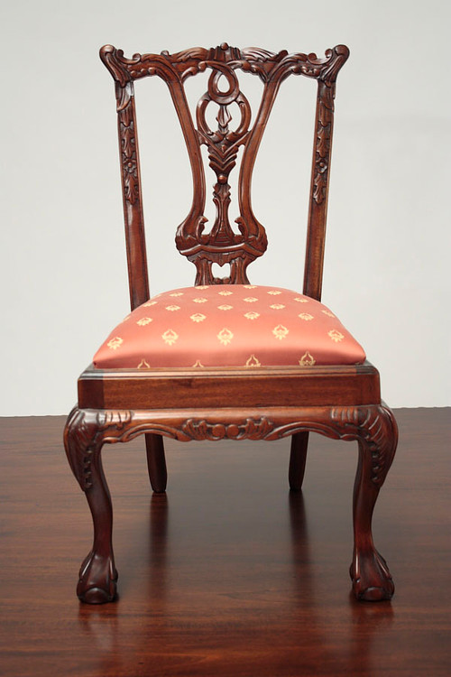 - Child's Chippendale Chair Laurel Crown Furniture