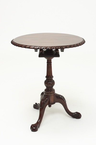 Chippendale Pie Crust Table
