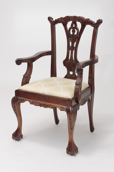 Chippendale Carver Armchairs